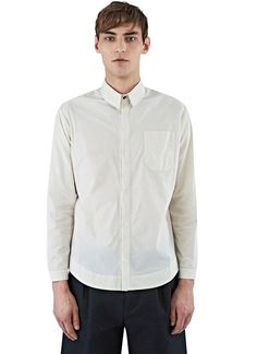 Men's Shirts - Clothing | Discover Now LN-CC - Long Sleeved Patch Pocket Shirt