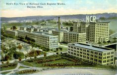 NCR Computers of the Century The Buckeye State, Dayton Ohio, Photo Postcards, Old Pictures, Paris Skyline, History, World, Childhood Memories, Places