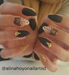 263 mentions J'aime, 8 commentaires – Alina Hoyo Nail Artist ( Fabulous Nails, Gorgeous Nails, Love Nails, Fun Nails, Pretty Nails, Gorgeous Gorgeous, Mandala Nails, Gelish Nails, Creative Nails