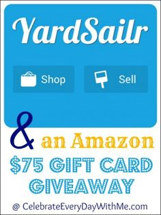 This app makes shopping garage sales so much easier.  It is a keeper!  http://celebrateeverydaywithme.com/2014/07/yardsailr-app-amazon-75-giveaway.html
