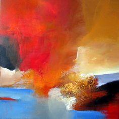 Silvia Sailer Kunst Abstraktes Landschaft