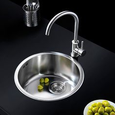 Beautiful Saturn Arc sink and prep bowl mixer,stainless steel from Franke. Mixer, Sink, Stainless Steel, Kitchen, Beautiful, Home Decor, Cuisine, Cooking, Room Decor