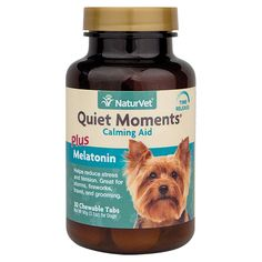 Is your pet afraid of fireworks? Quiet moments from @naturvet is a great product. Helps Reduce Stress and Tension • Great for Storms,…