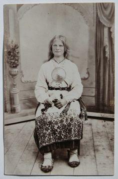 A maiden from Mulgimaa, Estonia