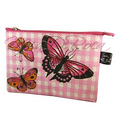 Rosa Pochette mit Schmetterlingen Apollonia - MiaDeRoca Pink, Woodland Forest, Bags