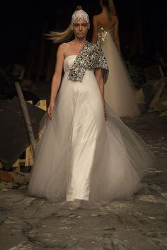7551 Wedding Dress – David Fielden Sposa 2012 Collection