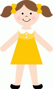 emma jane paper doll 2 ponytails shape | now 30% off in the Silhouette Online Store until July 31!