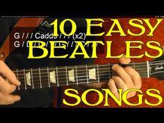 Basic Guitar Lessons for Free Beatles Guitar, Beatles Songs, The Beatles, Easy Guitar Songs, Guitar Chords For Songs, Basic Guitar Lessons, Guitar Lessons For Beginners, Guitar Classes, Guitar Chords Beginner