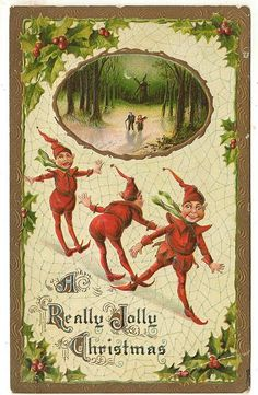 ■ Flickr-Photo Sharing by: bitsorf... vintage Christmas card | a really jolly Christmas