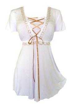 Dare To Wear Victorian Gothic Women's Plus Size Angel Corset Top White S Dare to Wear,http://www.amazon.com/dp/B00GW3EKPA/ref=cm_sw_r_pi_dp_xSMrtb1GR67D5EGT