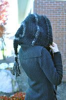 Sinduction's Patterns: Fully Custom Hooded Scarf. Gorgeous free patter