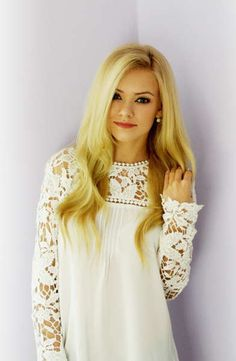 White lace shoulder dress--- so cute! Pin Up Girl Fashion:: Retro Style:: Vintage Inspired Clothing:: Lace:: Frock Dress