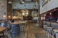 Smoke BBQ, Restaurant, Sheffield, Engineered Wood Flooring