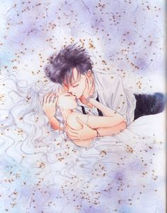 Sailor Moon Manga. I love this image...