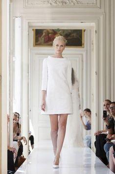 parisian wedding dress designer delphine manivet presented her gowns ...