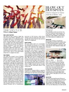 """We're On A Roll! """"...a visit to Chez Vous is more than a trip to a hip urban beauty retreat than to a regular hair salon..."""" We're truly humbled! We're featured in this month's Style: Singapore magazine (March 2015 Issue), the indispensable shopping companion for the Singaporean woman! Check us out on page 170, for the brilliant review written by Marianne Wee-Slater, Deputy Editor of Style Mag. Thank you Marianne! #chezvous #stylemag"""