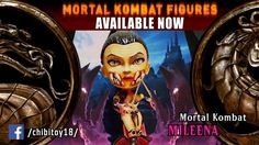 "New new Chibi Action Figure - ""Mileena"" http://www.ebay.com/itm/322388163315 (Character of video game Mortal Kombat Deception).  Current toy created exlusively. Exactly same copy can't be. Because of handmade. Toy can be disassembled on 16 parts.  HIGH SIZE OF TOY: 16 CM Paint: Acrylic Material: Plastic #ActionFigures #Toys"