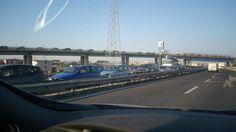 Giugliano, Asse mediano bloccato in direzione Napoli