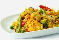 SANS GLUTEN SANS LACTOSE: Risotto aux crevettes et petits pois sans gluten et sans lactose