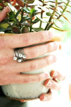Custom date ring - very cool.  PS - guys...this is an awesome idea for your wife for your anniversary.