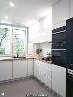 white kitchen design ideas for the heart of your home - home decorating ideas - Küchen design - Decorixs Kitchen Room Design, Small Space Kitchen, Modern Kitchen Design, Home Decor Kitchen, Kitchen Interior, New Kitchen, Kitchen White, Kitchen Hacks, Kitchen Counters