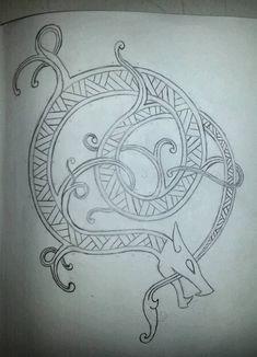 Viking dragon