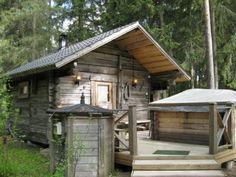 lovely sauna owned by Sukari family, at TEUVA Cabana, Diy Sauna, Sweat Lodge, Off Grid Cabin, Sauna Room, Outdoor Showers, Saunas, Earthship, Barn Homes
