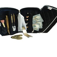 Great Jewelry Case and Travel Accessory Keeps all your precious Valuables safe