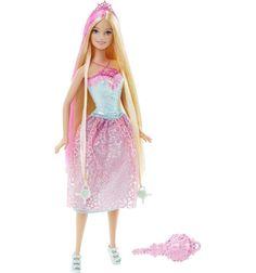 Кукла Barbie ( Кукла Барби ) Принцесса с длинными волосами розовые волосы | Barbie.Ru | Барби в России