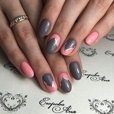 Маникюр. Видео-уроки Art Simple Nail - #accentnails #accent #nails