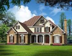 Traditional House Plan 58236