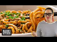 Marion's Kitchen is packed with simple and delicious Asian recipes and food ideas. Pork Stir Fry, Stir Fry Dishes, Stir Fry Recipes, Noodle Recipes, Asian Noodles, Beef Udon, Kitchen Recipes, Cooking Recipes, Pork