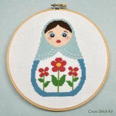 Baboushka cross stitch