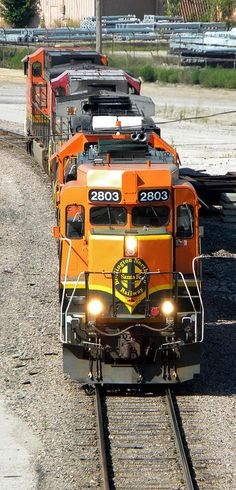 BNSF GP30 - Built in February 1963 as SSW #757. EMD GP30. Rebuilt by the BN to EMD GP39M.