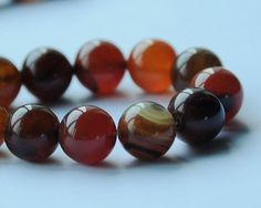 10mm Visional Agate Natural Gemstones Beads Round Colored 1 Strand 16 Inches