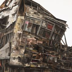 Deteriorating Architecture: Collages by Seth Clark | Inspiration Grid | Design Inspiration