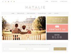 Natalie wordpress theme