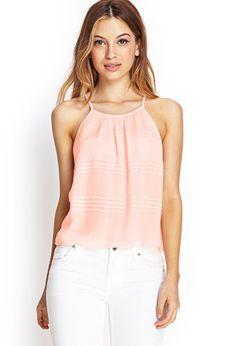 Micro Pleated Cami | FOREVER21 #SummerForever #f21xme #summerforever