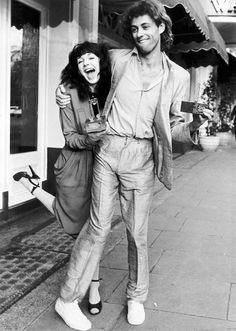 This Bob Geldof and Kate Bush Art Print is created using state of the art, industry leading Digital printers. Bob Geldof and Kate Bush Both Collected The Award For Best Single Pink Floyd, Brenda Ann Spencer, The Boomtown Rats, Bob Geldof, Nostalgic Images, Post Punk, My Tumblr, Record Producer, Celebrity Photos