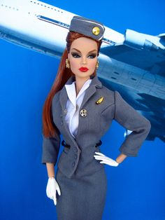 """""""Hi my name is Barbie, and I will be your flight assistant today..."""""""