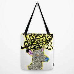 ciervos bolsas por dividus | Society6