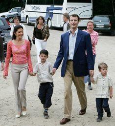 Prince Joachim and Princess Alexandra