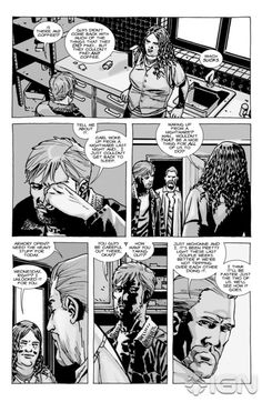 The Walking Dead Comic Images | The Walking Dead #92 Page 4, click to enlarge.