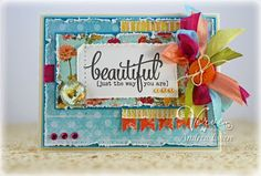 Card by Andrea Ewen previewing new stamps releasing from Verve 2/22/13.  #vervestamps