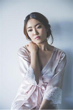 silk gown sexy