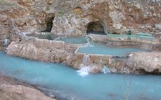 Pah Tempe Hot Springs in Hurricane, Utah. I lived right by there and had no idea! I have to go back now.