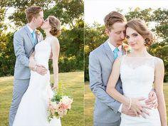 River Crossing Wedding | Bride and Groom | Photo: Julia Corinne Photography
