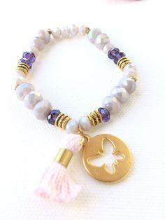 Items similar to Czech crystal bracelet on Etsy