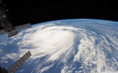 Hurricane From Space View HD desktop wallpaper High Definition