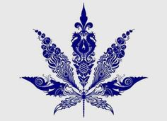 cannabis leaves tend to be tacky, but this could work